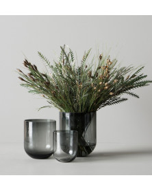 Vase | Simple Glass | Smoke...
