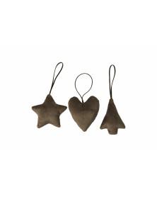 Julepynt | Stjerne | Hjerte...