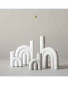 Vase | Robe | White | 3...