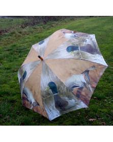 Paraply m. gråænder | Stor...