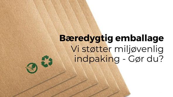 Bæredygtig emballage - by Brorson
