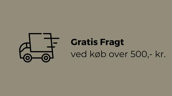 gratis fragt - by Brorson
