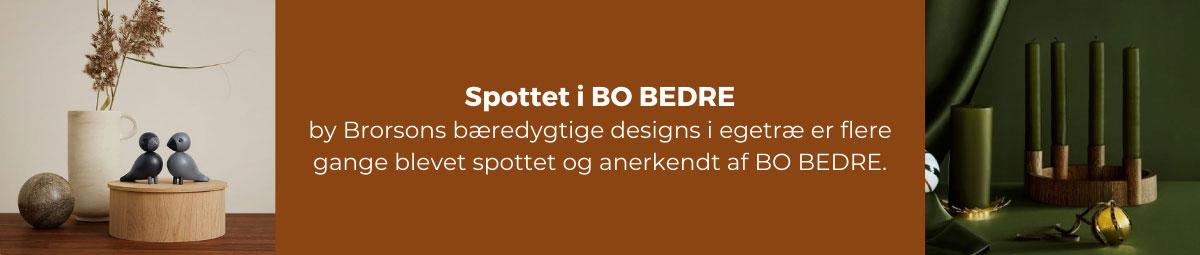 Spottet i Bo Bedre - by Brorson
